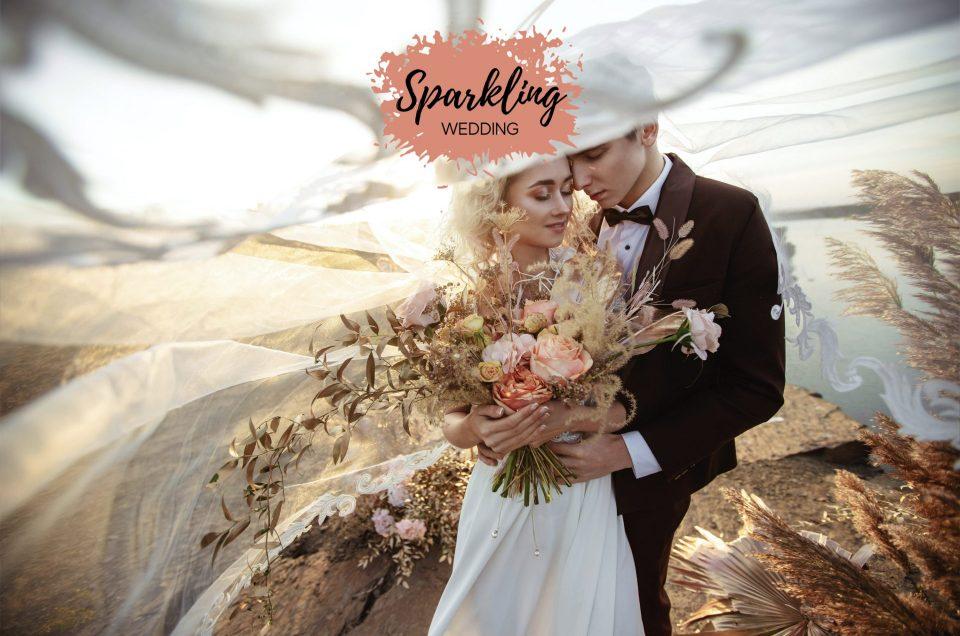 Sparkling wedding - 5 trouwprofessionals onder één dak